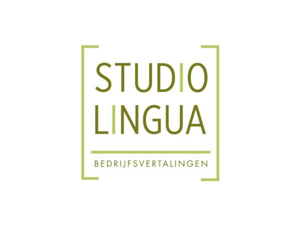 Logo Studio Lingua door Annabel Bruneel Graphics
